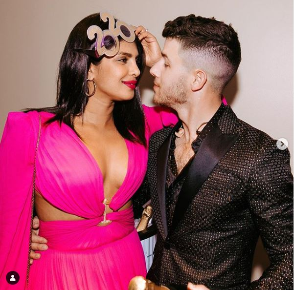 Priyanka and Nick Jonson