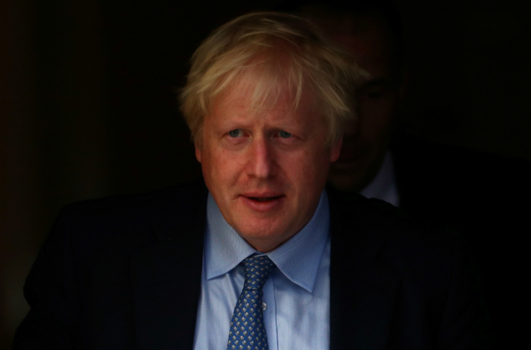 British PM Johnson Coronavirus Positive