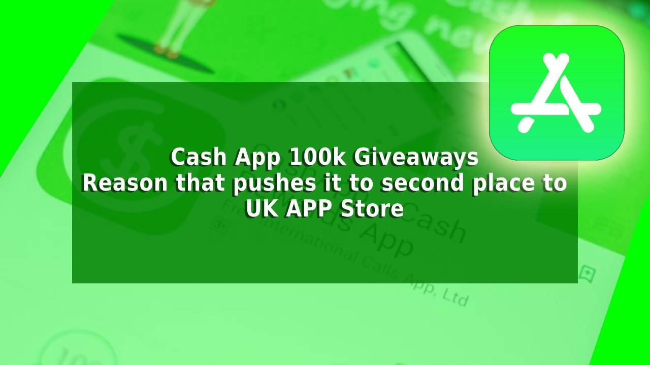 Cash App Giveaways